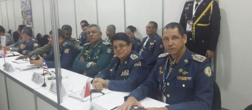 Comandante Geral do CBMPA participa de Feira Internacional de Defesa e Segurança no Rio de Janeiro