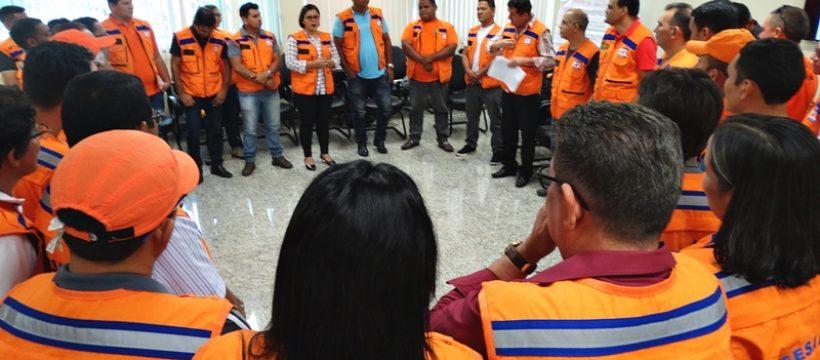 Defesa Civil Nacional realiza capacitação de agentes municipais na região oeste do Pará