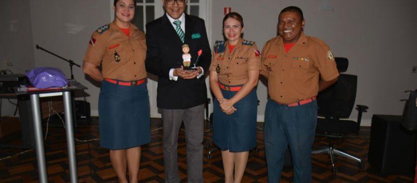 Major e Sargento do CBMPA participam do Curso de Cerimonial, Protocolo e  Etiqueta