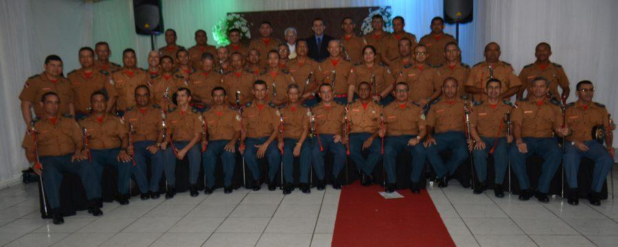Curso de Habilitação de Oficiais do Corpo de Bombeiros realiza Ato Ecumênico.