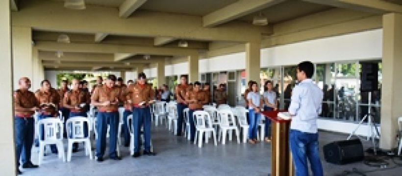 Militares promovidos realizam culto em ação de graças no QCG