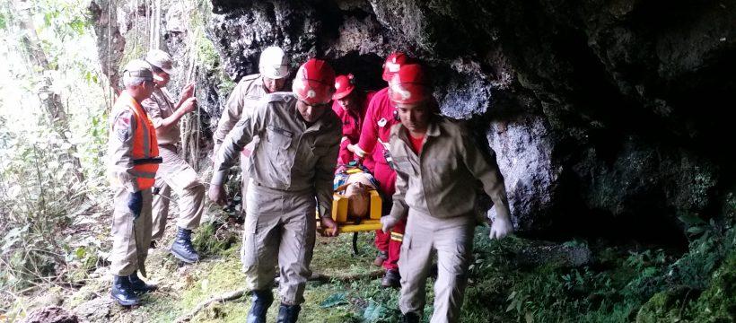 1° Simulado de Salvamento e Resgate em Áreas Isoladas do 16° GBM