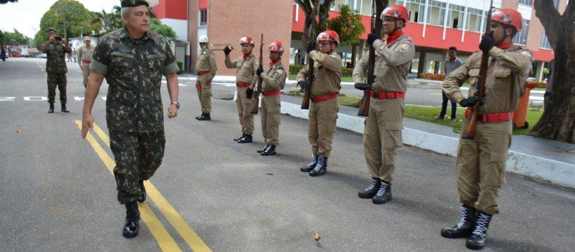 Inspetoria Geral das Polícias Militares e dos Corpos de Bombeiros Militares visita o CBMPA