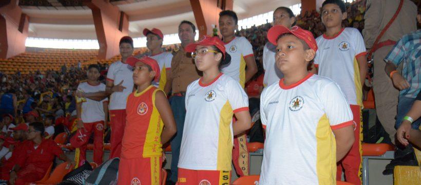 Alunos do PEV assistem ensaio do Circo Soleil no Ginásio Mangueirinho