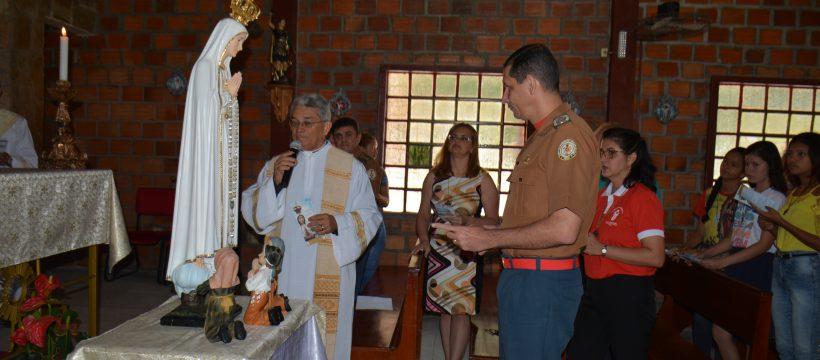 Imagem Peregrina de Nossa Senhora de Fátima visita a Capela de Santo Expedito