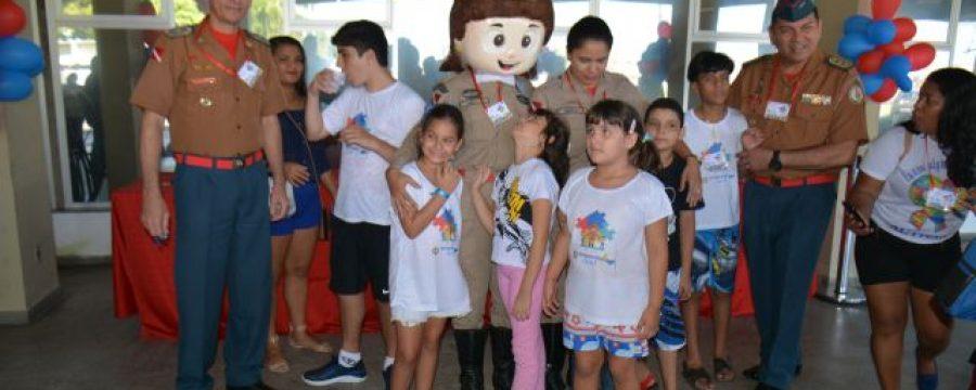 Projeto Bombeiro Azul no CBMPA