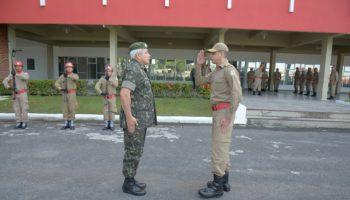 Visita do General da IGPM