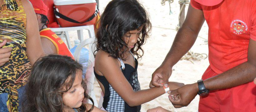 Atenção redobrada para crianças perdidas nas praias