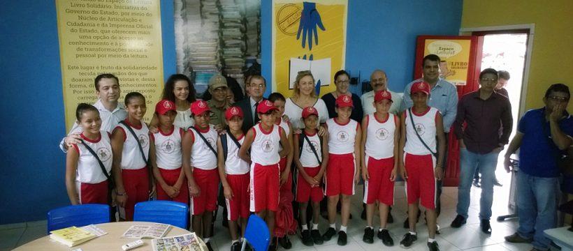 PEV Santarém recebe visita da Secretária Especial de Programas Sociais do Estado do Pará