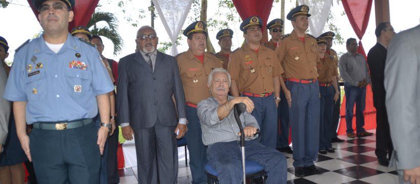 Coronel Abreu faz parte da história do CBMPA