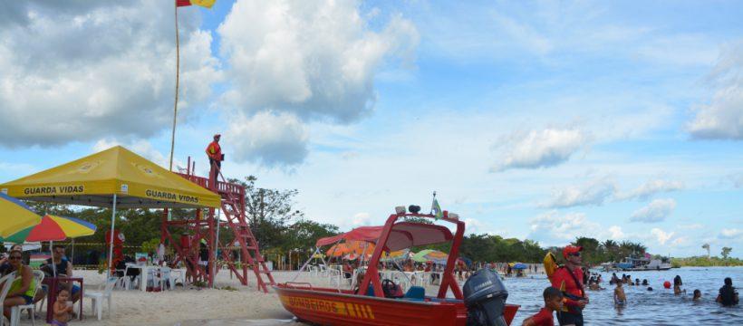 Bombeiros de Altamira garantem proteção aos veranistas