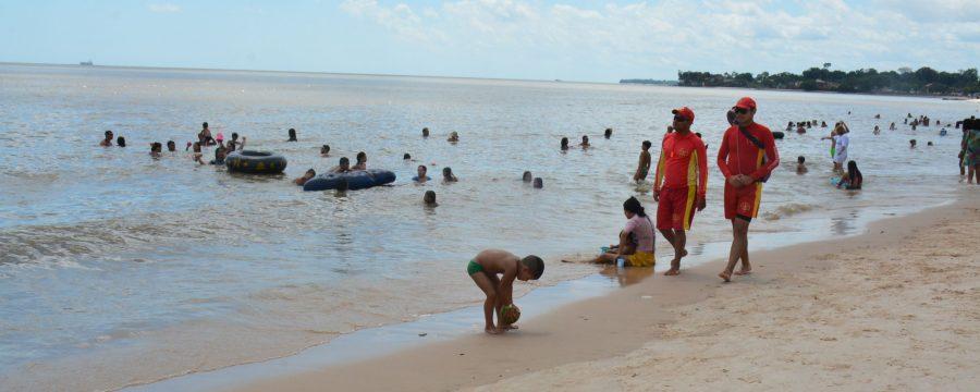 Bombeiros reforçam segurança na ilha do Mosqueiro
