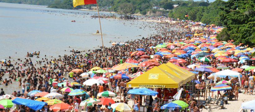 Outeiro recebe cerca de 50 mil pessoas no último domingo de julho