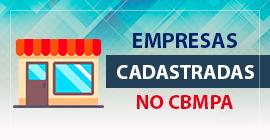 Empresas Cadastradas no CBMPA