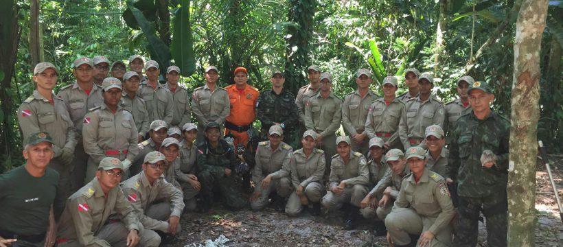 CFO realiza instrução de contenção de animais no Batalhão de Polícia Ambiental