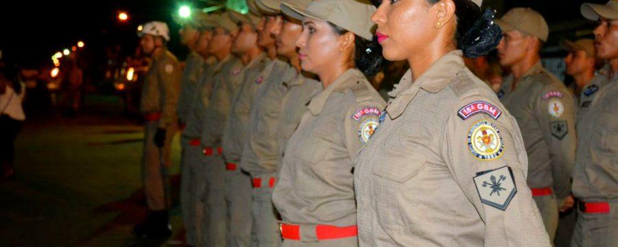 Corpo de Bombeiros chama atenção para Violência contra a mulher