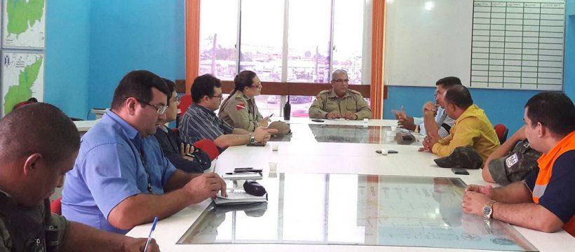 Defesa Civil discute sobre monitoramento, combate e prevenção às queimadas no verão amazônico