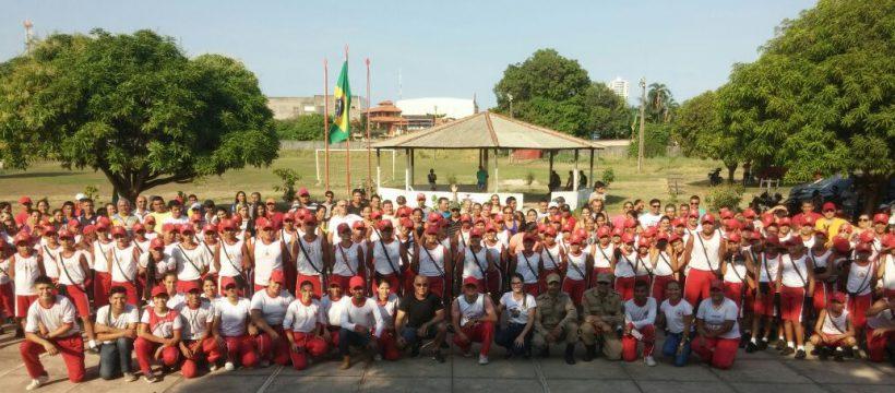 Alunos do PEV Santarém participam do Acampamento 2017