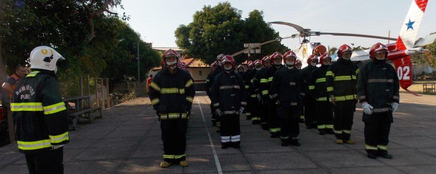 Defesa Civil do Estado promove curso de combate a incêndios urbanos em Santarém