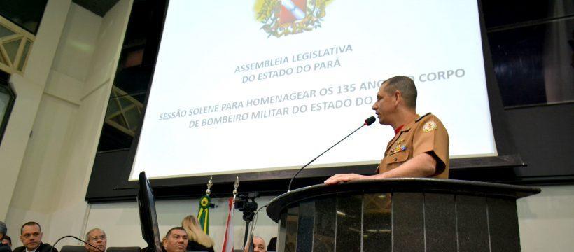 Assembleia Legislativa do Pará realiza sessão solene para Homenagear o Corpo de Bombeiro Militar