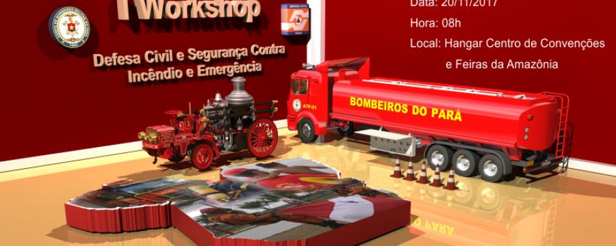 I workshop – Defesa Civil e Segurança Contra Incêndio e Emergência