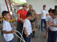 CBMPA recebe crianças do Programa Forças no Esporte (PROFESP)