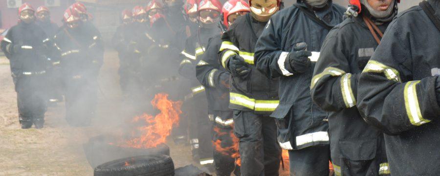 CBMPA realizou curso de Combate a incêndio Urbano