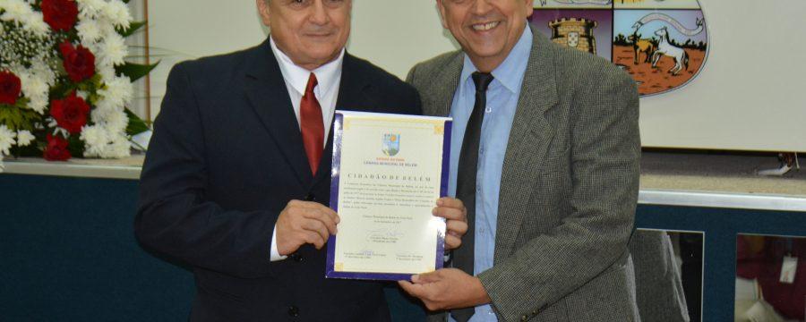 Bombeiro Militar RR recebe titulo de Cidadão de Belém