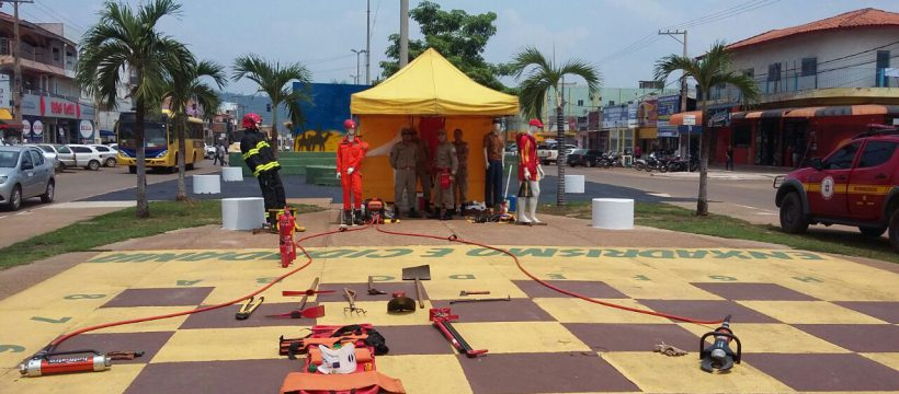 Canaã dos Carajás recebeu programação especial em comemoração ao dia do Bombeiro Paraense