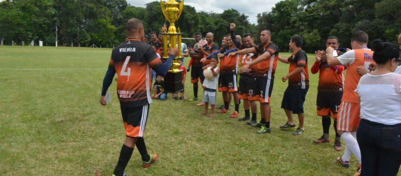 Final do Campeonato Interno de futebol do CBM