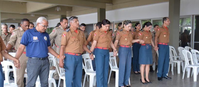 Momento de agradecimento é celebrado no Comando Geral