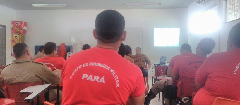 Militar do Corpo de Bombeiros ministra palestra sobre psicossocial