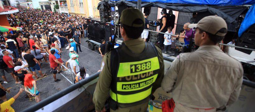 Segurança e prevenção no segundo fim de semana do pré-carnaval na Cidade Velha