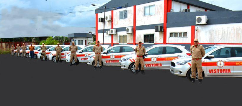 Corpo de Bombeiros entrega novas viaturas