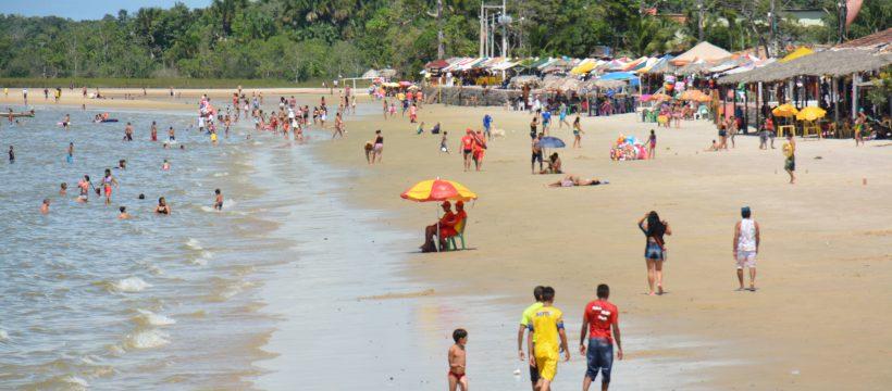 Prevenção nas praias de Barcarena no quarto dia de Operação Carnaval