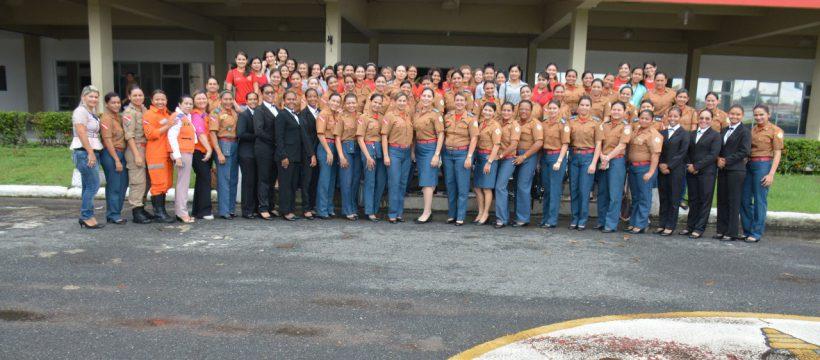 Primeira turma de mulheres do CBMPA completou 24 anos