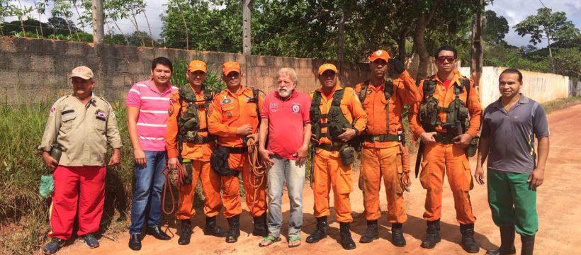 1° GBS realiza busca de vítima perdida em selva
