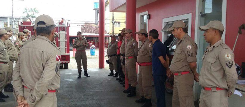 Manhã no 27°GBM é marcada com ida de militar para a reserva remunerada