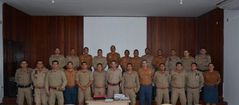 Comando Operacional realiza reunião acerca de diretrizes administrativas