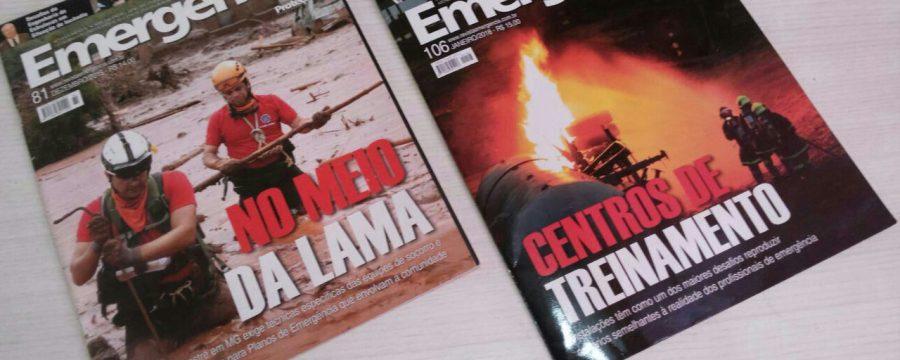 Militar do CBMPA tem segundo artigo publicado na revista Emergência