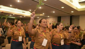 Militares Paraenses participam de II Encontro Nacional de Bombeiras Nacional em Recife