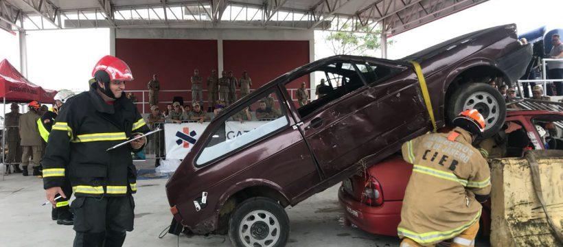 Militar do Corpo de Bombeiros Militar do Pará participa de Desafio de Resgate Veicular no Rio de Janeiro