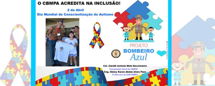 CBMPA lembra do Dia Mundial da Conscientização do Autismo