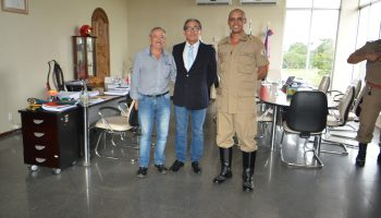 Visitas de Autoridades ao Cmt Geral