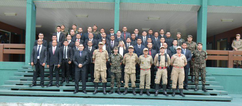 MILITARES PARTICIPAM DO ENCERRAMENTO DO ESTAGIO DE SEGURANÇA E PROTEÇÃO ÀS AUTORIDADES