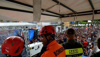 CBMPA na prevenção no carnaval da Cidade Velha