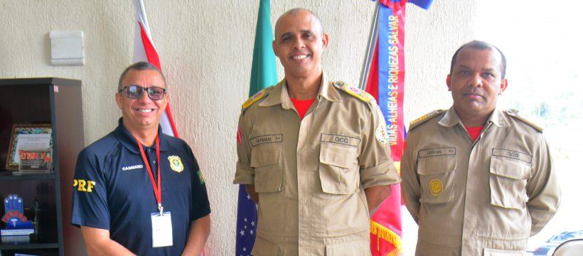 CBMPA RECEBE VISITA INSTITUCIONAL DA PRF