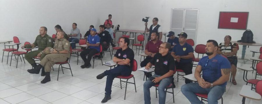 15º GBM – ABAETETUBA REALIZA REUNIÃO COM REPRESENTANTES DOS ORGÃOS DE SEGURANÇA PÚBLICA