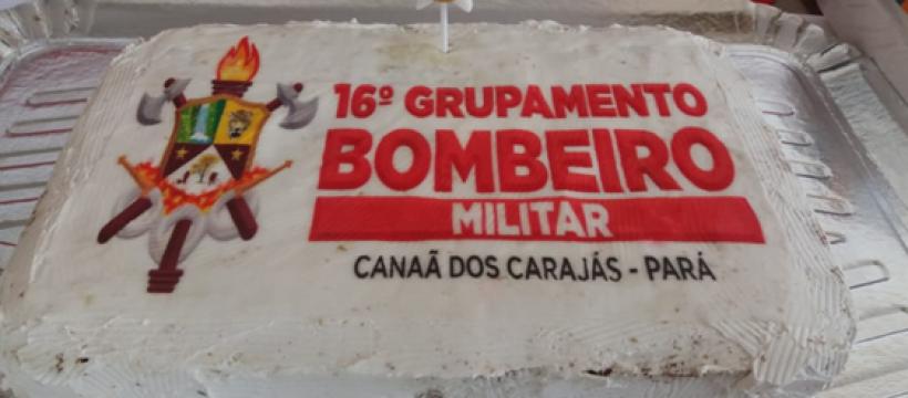 3° Aniversário do 16° Grupamento Bombeiro Militar