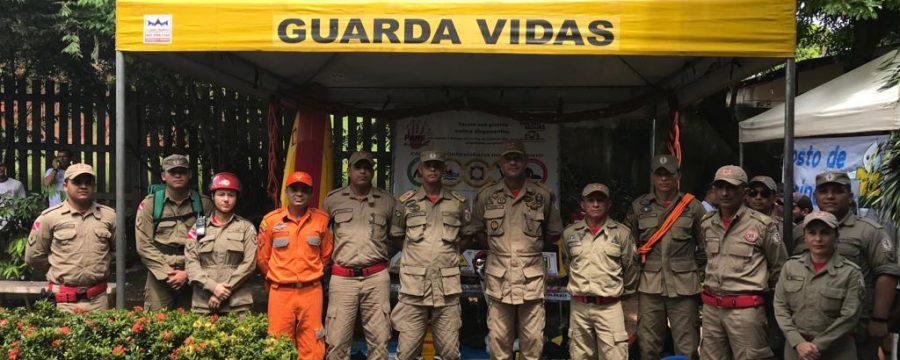 Bombeiros realizam orientações durante Ação Integrada de Cidadania 'Governo por todo Pará'